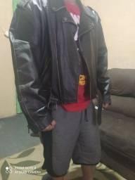 Título do anúncio: Jaqueta de couro legítimo KALLINE