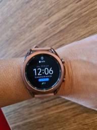 Título do anúncio: Novíssimo Samsung Watch 3 - 41mm- rosê golg