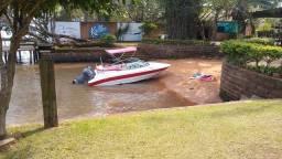 Título do anúncio: Lancha Brazilian boat 19 pés 2009