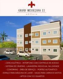 Apartamentos Novos de 01 ou 02 Quartos na Messejana!