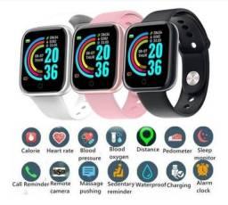 Smartwatch D20 novos - Aceito cartão crédito/débito
