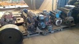 Título do anúncio: Lote de 5 motores a diesel 4 e 6 cilindros