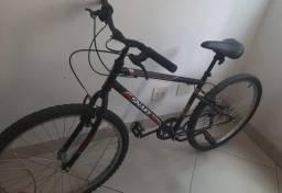 Título do anúncio: Bicicleta Aro 26 Caloi Snake com 7 Marchas ? Preta.
