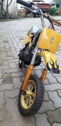 Título do anúncio: Mini moto Cross 49cc aro 8