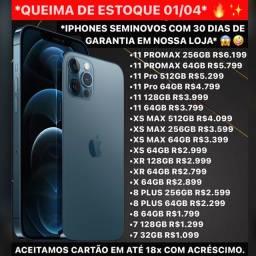 iPhone com menor preço do Brasil, queima de estoque.
