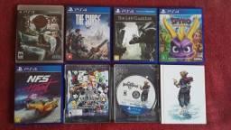 Jogos PS 4 e PS 3,preços na descrição.