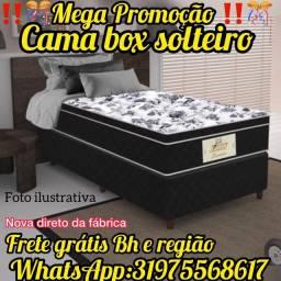 Título do anúncio: CAMA BOX SOLTEIRO !! SUPER PROMOÇÃO