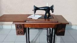 Máquina de costura Singer modelo JB +mesinha original Singer