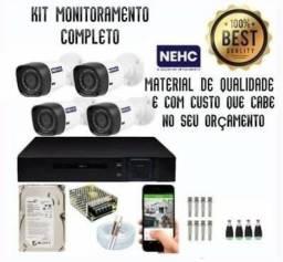 Título do anúncio: A solução (Câmera de Segurança - Cftv)  do tamanho das suas necessidades