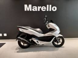 Honda PCX 150cc 2018/2018 Prata, Moto Baixa Km, Bem Conservada, Ipva 2021 Pago