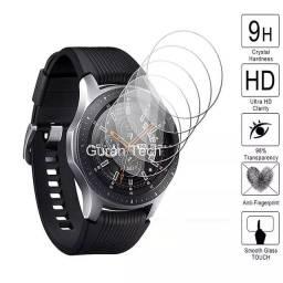 Película de vidro e gel para smartwatch