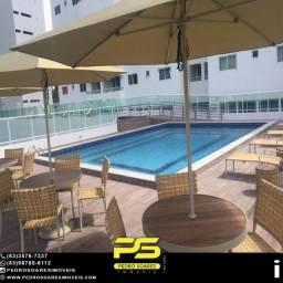 Apartamento com 3 dormitórios à venda, 102 m² por R$ 650.000 - Miramar - João Pessoa/PB