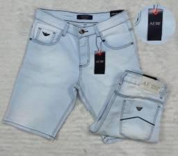 Título do anúncio: Bermuda Armani Jeans - Edição Denim culture