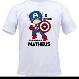 Camisa personalizada infantil