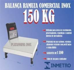 Título do anúncio: Balança 150kg digital ramuza com inmetro