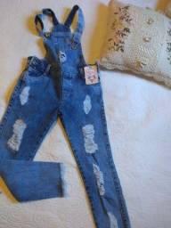 Macacão jeans kids