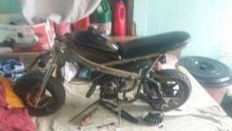 Título do anúncio: Vendo Mini moto olio 2 tempo