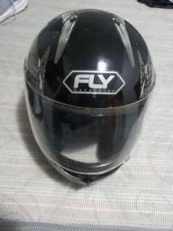 Capacete FLY, N° 58 novinho