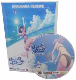 Box Dvd Anime Harukana Receive Legendado