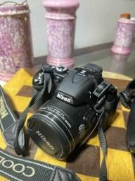 Título do anúncio: Camera Coolpix p520