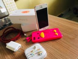 Iphone SE Rose completo pegando tudo 600$