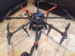 Drone Octacoptero Profissional Free Fly - Profissional Completo