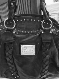 Maxi bolsa Dopping couro