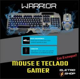 Kit Gamer Teclado E Mouse Warrior Melhor Custo Beneficio !!