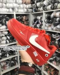 Tênis Nike Air Force 1 LV8 vermelho - 40% de desconto no atacado