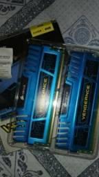 Troco DDR3 4GB 2X4=8GB Leia a Descrição.