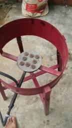 Fritadeira a gás usada mais esta em otimo estado