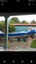 Barco, Carretinha e motor