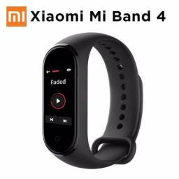 Pulseira Inteligente Xiaomi Mi Band 4-Somos Loja Fisica-(Entrega Gratis)