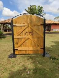 Porta de decoração