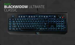 Teclado Razer Mecânico Blackwidow Ultimate Blue