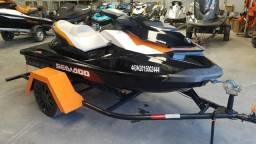 Jet ski Seadoo Gti 155 SE com carreta - 2014