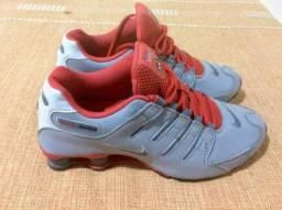 decdcf42bbd Tênis Nike Shox Nz Eu Masculino + brindes