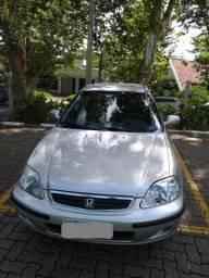 Honda Civic 2000 Único Dono - 2000