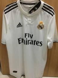 Camisa do Real Madrid nova