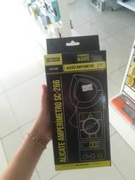 Alicate amperímetro c/ Multimetro digital