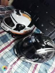 Dois capacete 778/G4 novos