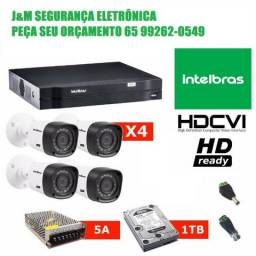 Kit Cftv Intelbras Multihd