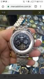 241975d3c8b Relógio Breithling caixa e pulseira em Aço