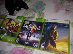 Xbox 360 zero pouco usado