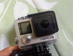 Gopro hero 4 black edition novinha