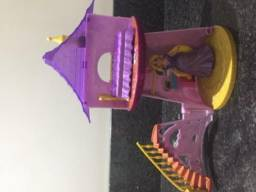 Mini castelo da Rapunzel