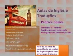 Aulas de Inglês e Serviço de Tradução