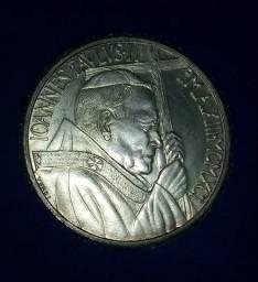 Moeda citta del vaticano L.500 de prata