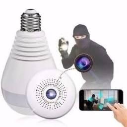 Lâmpada Câmera Espiã Segurança IP WiFi com Garantia ? Projeta sua Casa