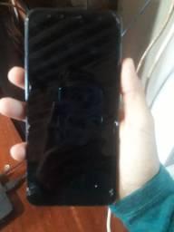 J4+ troco em um IPhone
